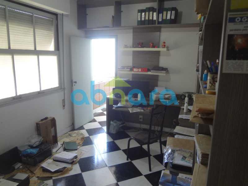 19 - Excelente 4 quartos, com dependências e vaga de garagem. Vista cinematográfica para a enseada de Botafogo. - CPAP40295 - 13