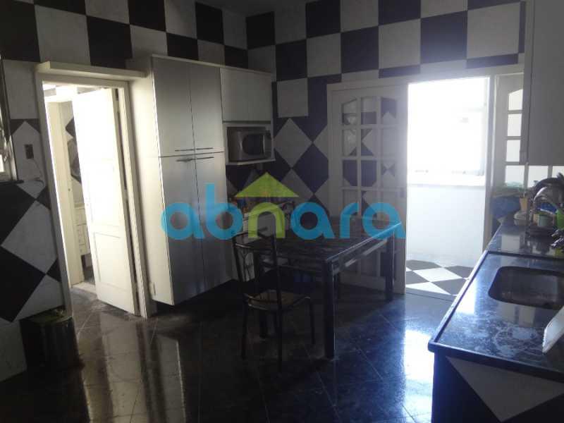 23 - Excelente 4 quartos, com dependências e vaga de garagem. Vista cinematográfica para a enseada de Botafogo. - CPAP40295 - 16