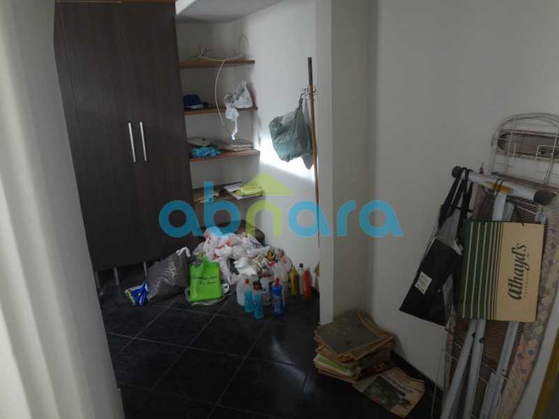 28 - Excelente 4 quartos, com dependências e vaga de garagem. Vista cinematográfica para a enseada de Botafogo. - CPAP40295 - 18