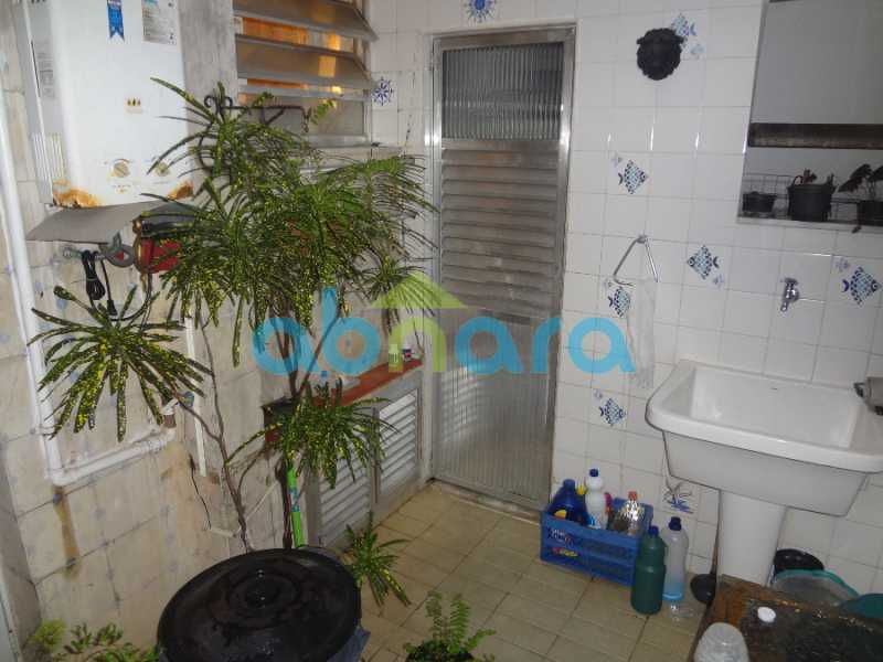 09 - Casa duplex , condomínio fechado em Copacabana. 150 m2, 3 quartos, 2 banheiros, cozinha, área de serviço com banheiro, varanda. 1 Vaga - CPCN30004 - 6
