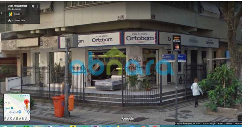 fachada 322 - Loja Copacabana, Rio de Janeiro, RJ À Venda, 31m² - CPLJ00017 - 1