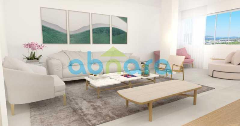 foto5 - Oportunidade na Glória, apartamento de luxo com sala ampla, 3 suítes vista livre para a praia do Flamengo. - CPAP30783 - 1