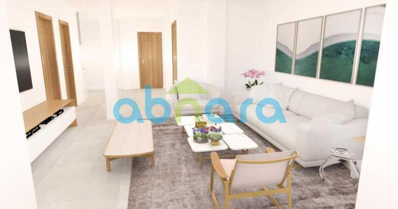 foto1. - Oportunidade na Glória, apartamento de luxo com sala ampla, 3 suítes vista livre para a praia do Flamengo. - CPAP30783 - 3