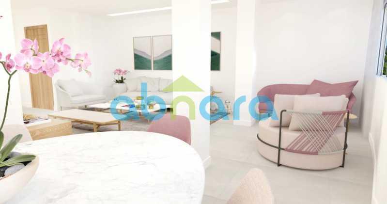 foto4 - Oportunidade na Glória, apartamento de luxo com sala ampla, 3 suítes vista livre para a praia do Flamengo. - CPAP30783 - 6