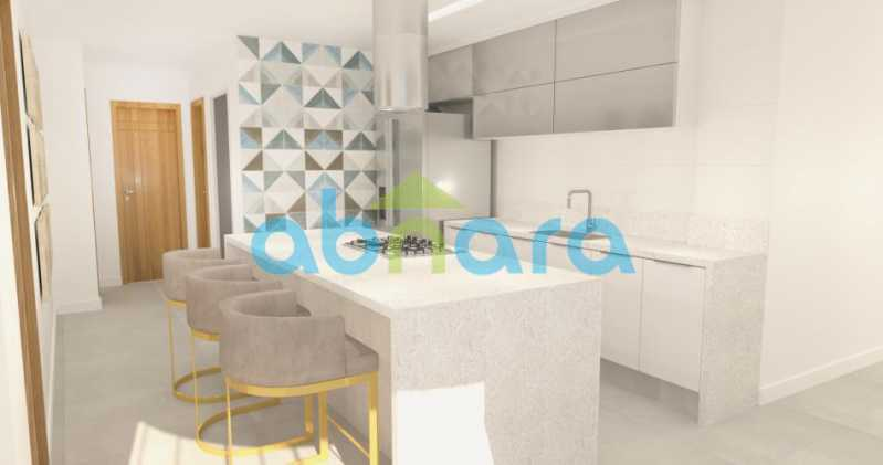 foto8 - Oportunidade na Glória, apartamento de luxo com sala ampla, 3 suítes vista livre para a praia do Flamengo. - CPAP30783 - 9