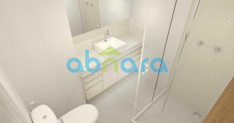 foto9 - Oportunidade na Glória, apartamento de luxo com sala ampla, 3 suítes vista livre para a praia do Flamengo. - CPAP30783 - 10