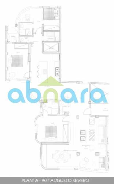 foto11 - Oportunidade na Glória, apartamento de luxo com sala ampla, 3 suítes vista livre para a praia do Flamengo. - CPAP30783 - 13