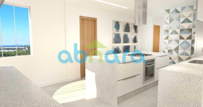 foto12 - Oportunidade na Glória, apartamento de luxo com sala ampla, 3 suítes vista livre para a praia do Flamengo. - CPAP30783 - 12