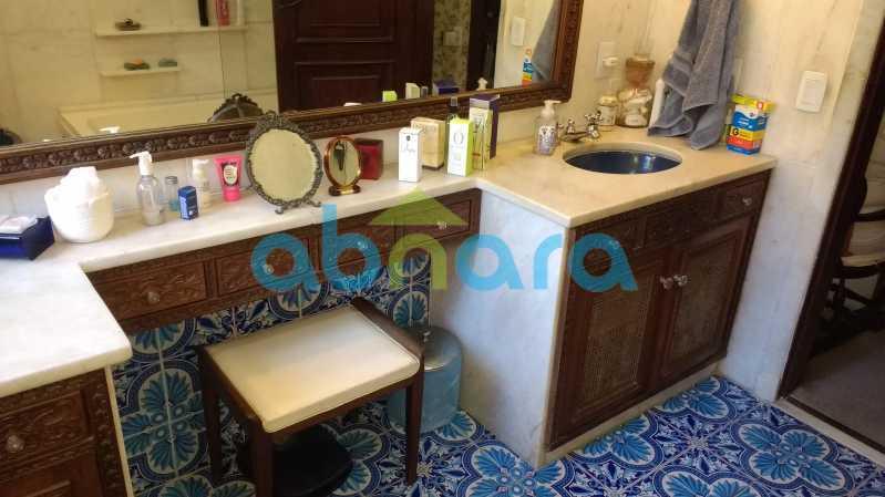 Banheiro Suíte Principal - Gávea, Casa, Quatro Suítes, Quatro Vagas - CPCA40019 - 17