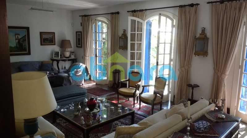Salão Com Janelões - Gávea, Casa, Quatro Suítes, Quatro Vagas - CPCA40019 - 7
