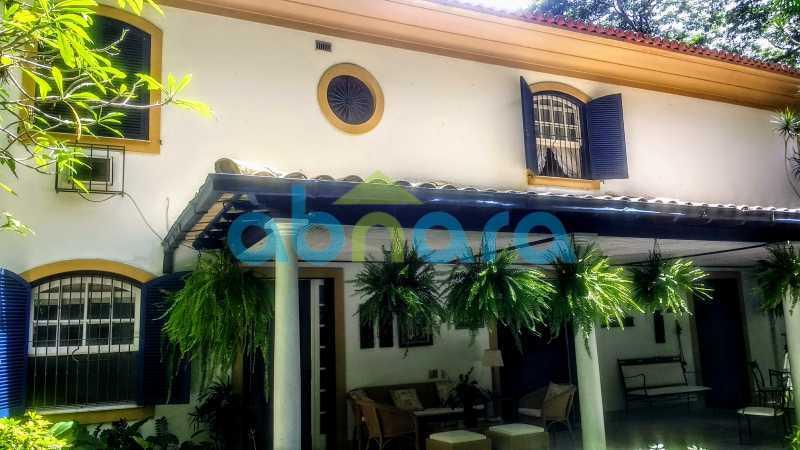 Fachada Colonial - Gávea, Casa, Quatro Suítes, Quatro Vagas - CPCA40019 - 3