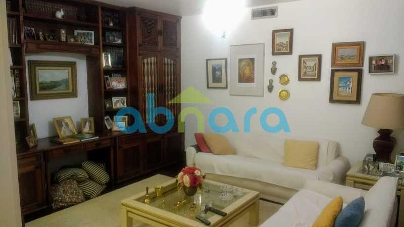 Sala de Visitas - Gávea, Casa, Quatro Suítes, Quatro Vagas - CPCA40019 - 9