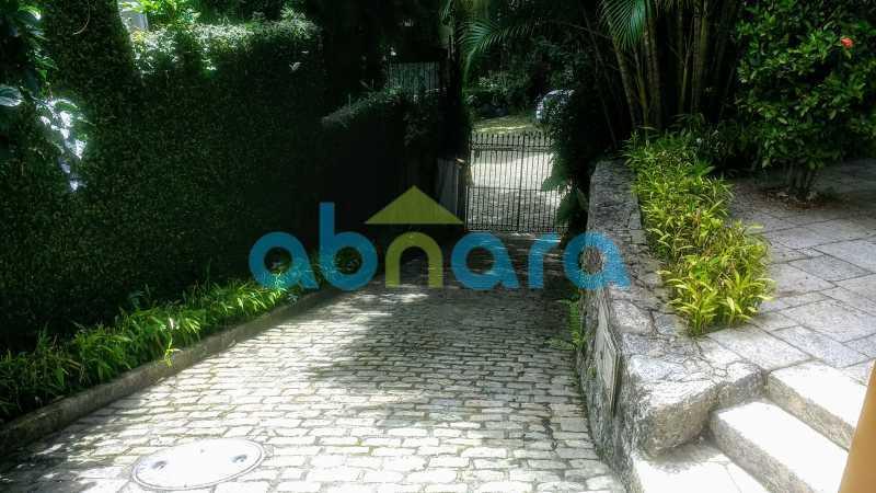 Entrada de Automóveis - Gávea, Casa, Quatro Suítes, Quatro Vagas - CPCA40019 - 29