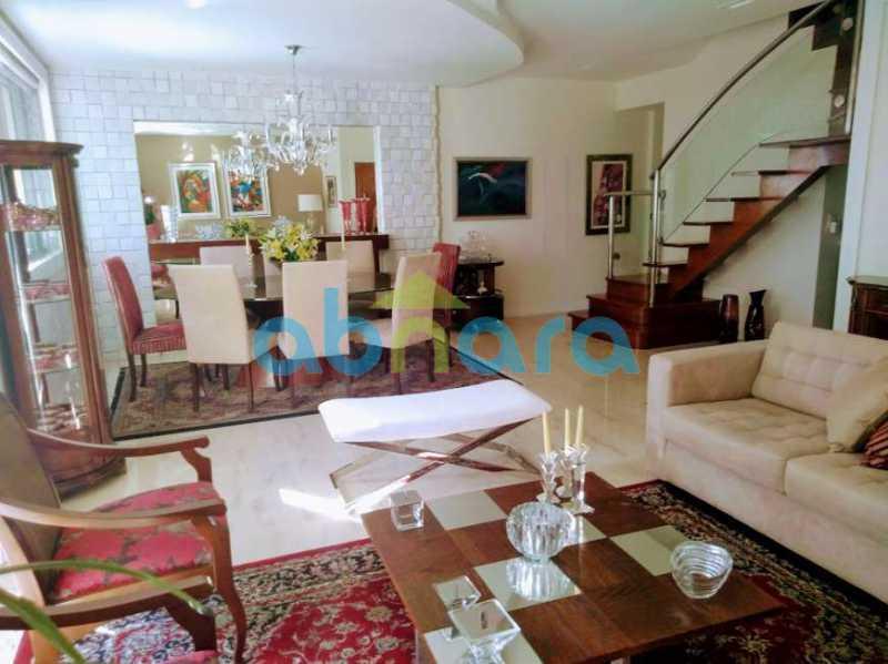 sala 001 - Cobertura 4 quartos à venda Copacabana, Rio de Janeiro - R$ 3.100.000 - CPCO40063 - 3