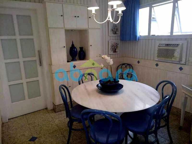 sala de almoço 01 - Cobertura 4 quartos à venda Copacabana, Rio de Janeiro - R$ 3.100.000 - CPCO40063 - 8