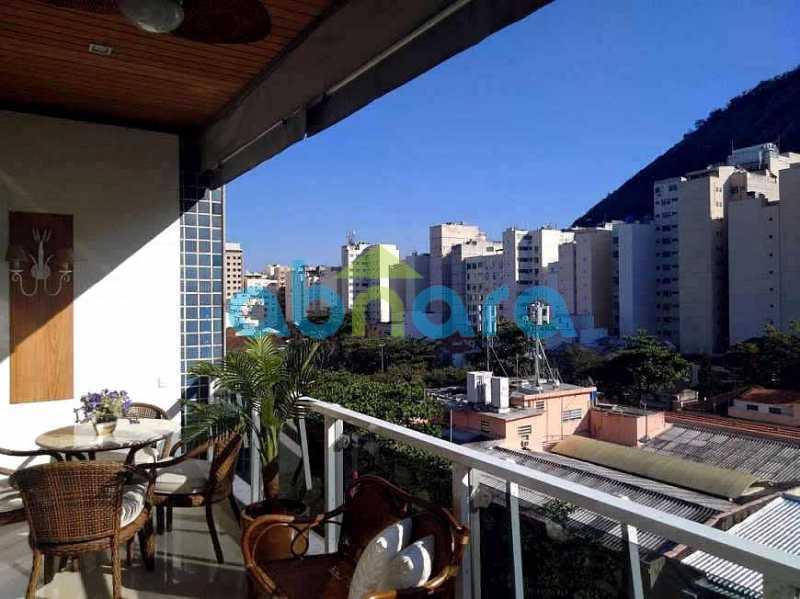 vista 005 - Cobertura 4 quartos à venda Copacabana, Rio de Janeiro - R$ 3.100.000 - CPCO40063 - 1