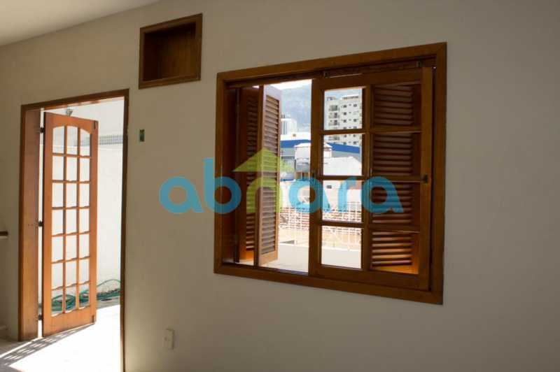 foto 17 - Casa triplex de vila, com 4 quartos sendo 2 suítes, 2 vagas, churrasqueira e piscina, em rua tranquila de Botafogo. - CPCA40025 - 6