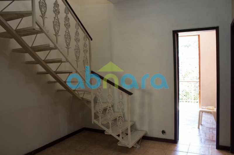 foto 12 - Casa triplex de vila, com 4 quartos sendo 2 suítes, 2 vagas, churrasqueira e piscina, em rua tranquila de Botafogo. - CPCA40025 - 12