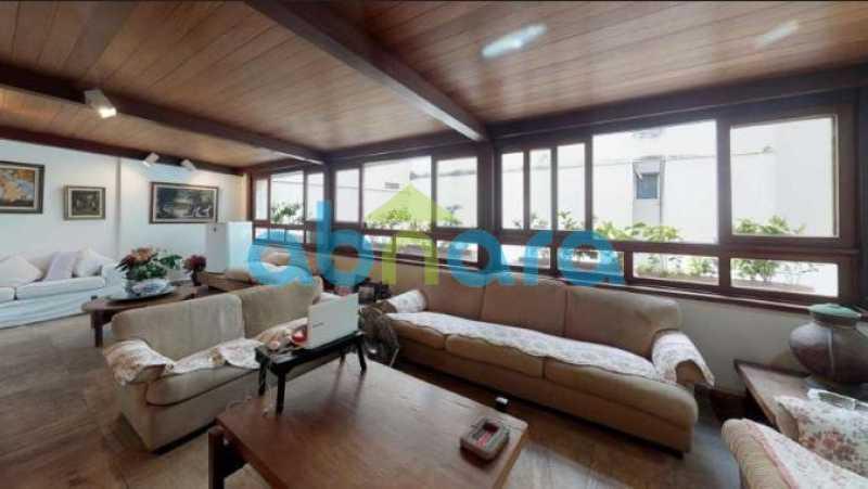 foto 3 - Linda cobertura duplex com 4 quartos em Ipanema, espaçosa e bem dividida, com uma vaga na escritura, perto da lagoa e da praia de Ipanema. - CPCO40070 - 1
