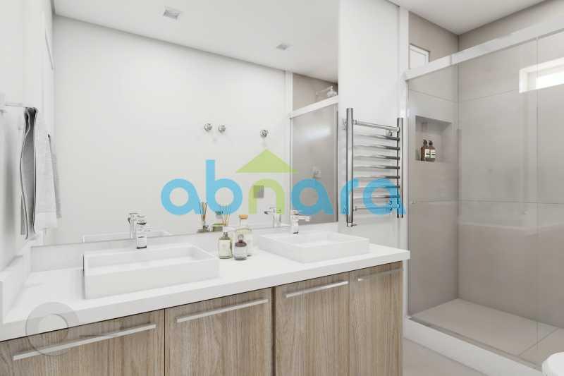 Banheiro - 2 Quartos, Leblon, Reformado, Praia, Metrô - CPAP20520 - 11