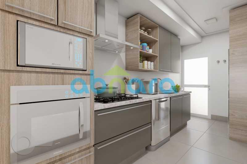 Cozinha 2 - 2 Quartos, Leblon, Reformado, Praia, Metrô - CPAP20520 - 6