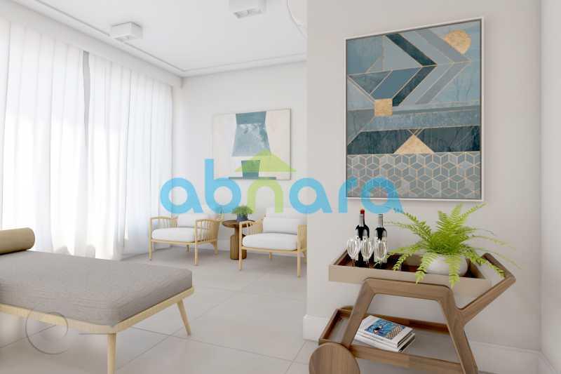 Sala de Estar - 2 Quartos, Leblon, Reformado, Praia, Metrô - CPAP20520 - 4
