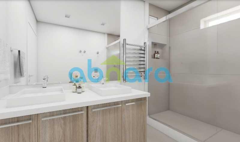 Banheiro 2 - 2 Quartos, Leblon, Reformado, Praia, Metrô - CPAP20520 - 12
