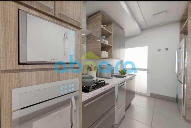 Cozinha - 2 Quartos, Leblon, Reformado, Praia, Metrô - CPAP20520 - 5