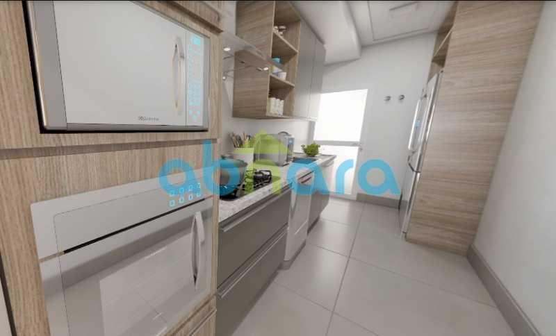 Cozinha 3 - 2 Quartos, Leblon, Reformado, Praia, Metrô - CPAP20520 - 7