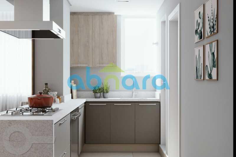 Cozinha - Leblon, Imperdível, 2 Quartos, Reformado - CPAP20523 - 4