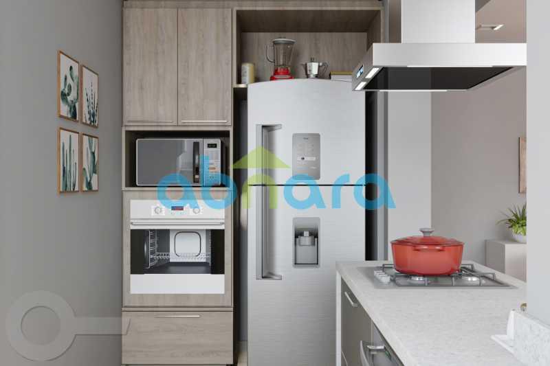 Cozinha 2 - Leblon, Imperdível, 2 Quartos, Reformado - CPAP20523 - 5