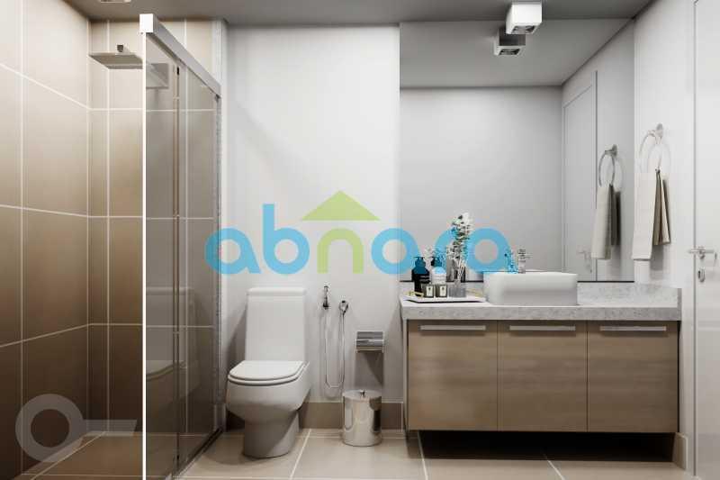 Banheiro - Apartamento À venda em Leblon, com 2 quartos, 70 m² - CPAP20524 - 7