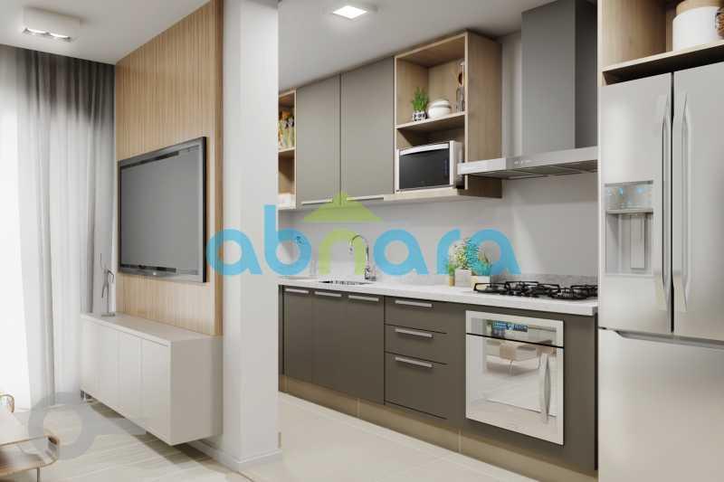 Cozinha - Apartamento À venda em Leblon, com 2 quartos, 70 m² - CPAP20524 - 4