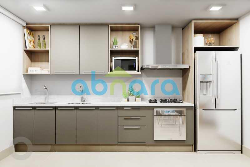 Cozinha 2 - Apartamento À venda em Leblon, com 2 quartos, 70 m² - CPAP20524 - 5