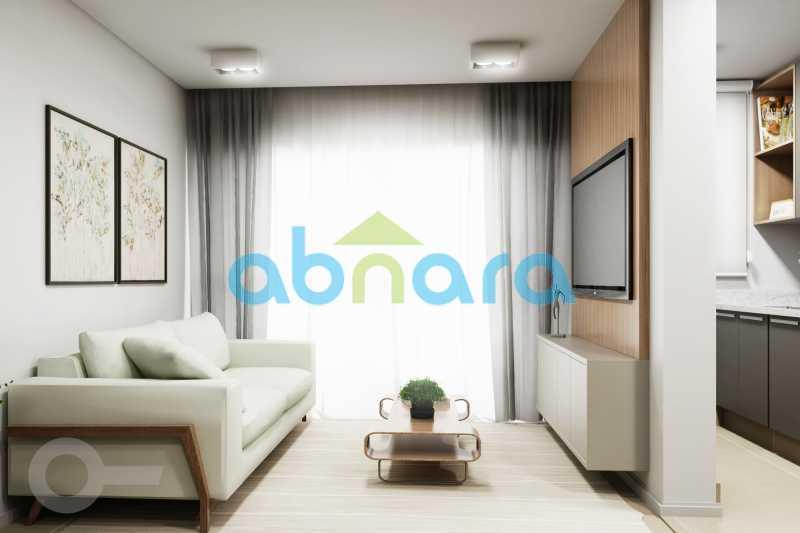 Sala 2 - Apartamento À venda em Leblon, com 2 quartos, 70 m² - CPAP20524 - 9