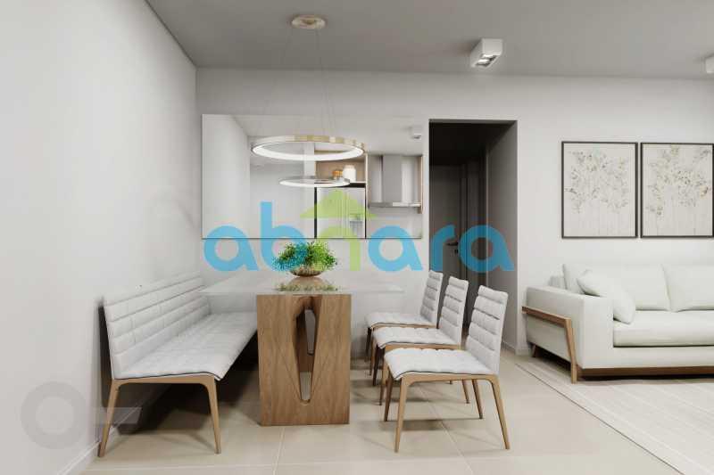 Ambiente de Jantar - Apartamento À venda em Leblon, com 2 quartos, 70 m² - CPAP20524 - 3