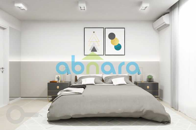 Suíte Master - Apartamento À venda em Leblon, com 2 quartos, 70 m² - CPAP20524 - 6
