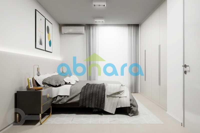 Suíte 2 - Apartamento À venda em Leblon, com 2 quartos, 70 m² - CPAP20524 - 8