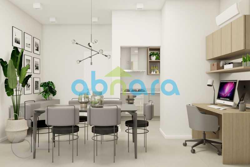Ambiente de Jantar - Apartamento À venda em Ipanema, com 2 quartos, 76 m² - CPAP20525 - 3