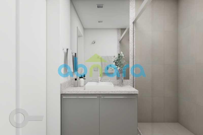 Banheiro - Apartamento À venda em Ipanema, com 2 quartos, 76 m² - CPAP20525 - 8