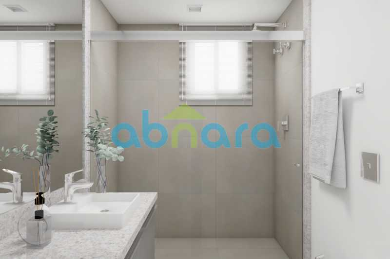 Banheiro 2 - Apartamento À venda em Ipanema, com 2 quartos, 76 m² - CPAP20525 - 9