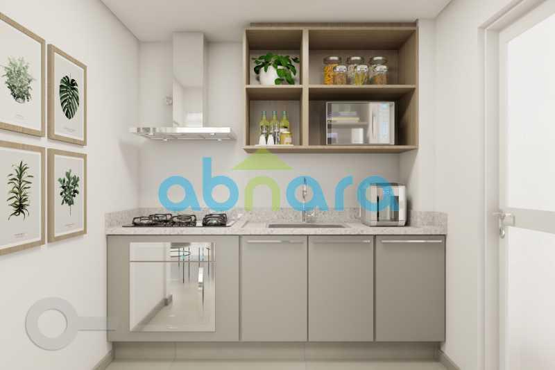Cozinha - Apartamento À venda em Ipanema, com 2 quartos, 76 m² - CPAP20525 - 4