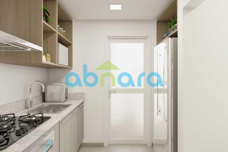 Cozinha 2 - Apartamento À venda em Ipanema, com 2 quartos, 76 m² - CPAP20525 - 5