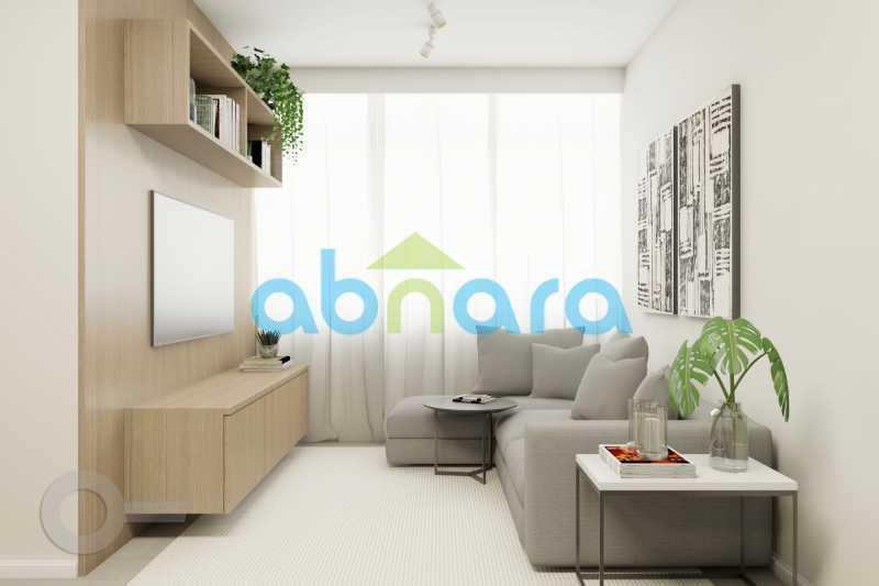 Sala - Apartamento À venda em Ipanema, com 2 quartos, 76 m² - CPAP20525 - 1