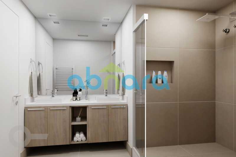 Banheiro - Apartamento À venda em Ipanema, com 2 quartos, 126 m² - CPAP20526 - 7