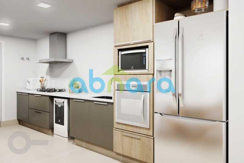 Cozinha 2 - Apartamento À venda em Ipanema, com 2 quartos, 126 m² - CPAP20526 - 5
