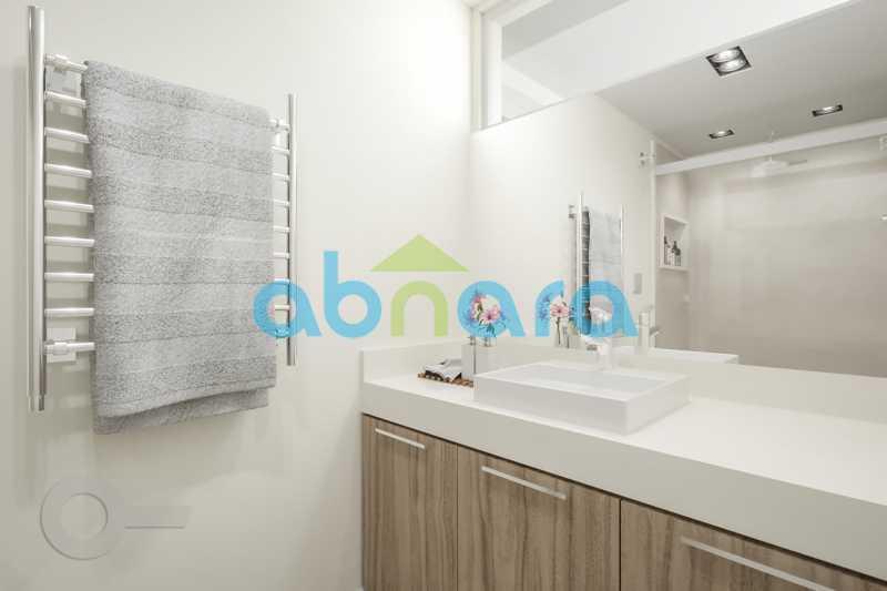 Banheiro - Apartamento À venda em Leblon, com 3 quartos, 153 m² - CPAP30816 - 8