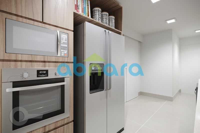 Cozinha 2 - Apartamento À venda em Leblon, com 3 quartos, 153 m² - CPAP30816 - 6