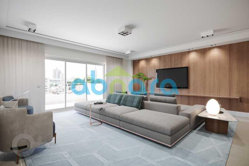 Salão - Apartamento À venda em Leblon, com 3 quartos, 153 m² - CPAP30816 - 1