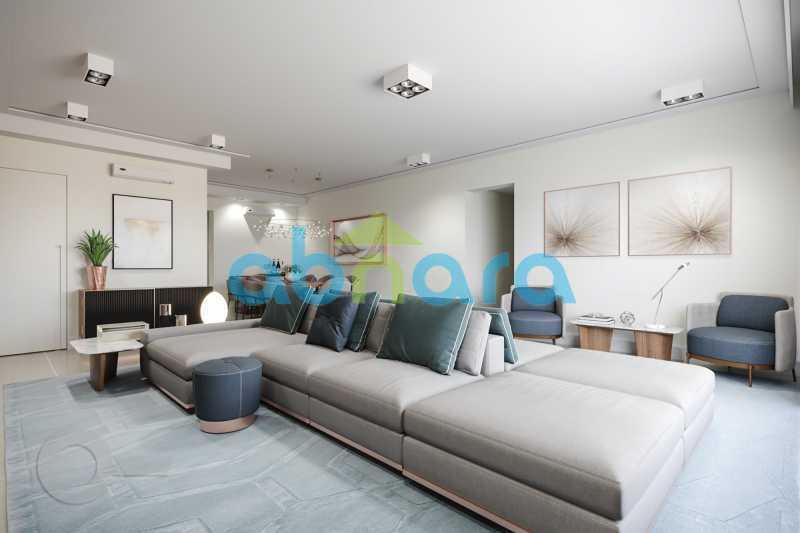 Salão 3 - Apartamento À venda em Leblon, com 3 quartos, 153 m² - CPAP30816 - 10